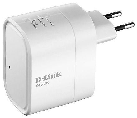 Extensor de Alcance Wi-Fi D-Link DIR-505 - 150Mbps - 2,4 GHz - Shareport - Repetidor de Sinal