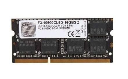 Memória Notebook G Skill DDR3 - 8GB / 1.333MHz - F3-10600C9S-8GRSL