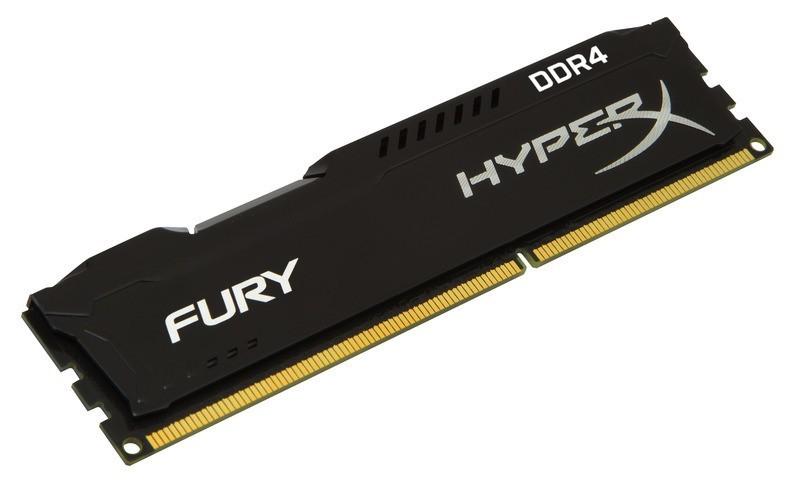 Memória Kingston HyperX FURY 8GB 2400Mhz DDR4 CL15 Black - HX424C15FB2/8