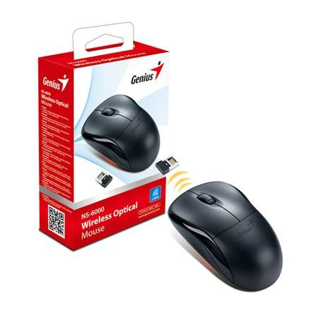 Mouse Sem Fio Genius Óptico NS-6000 2.4GHz 1000dpi