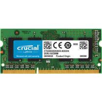 Memória Crucial 8GB 1600Mhz DDR3 p/ Notebook CL11 - CT102464BF