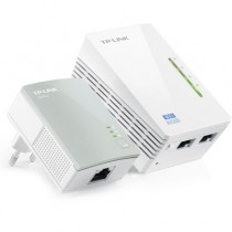 KIT Extensor  Powerline TP-Link - 300 Mbps - TL- WPA4220