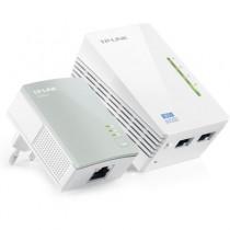 KIT Extensor  Powerline TP-Link - 300 Mbps - TL- WPA4220