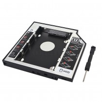 Adaptador Dvd P Hd Ssd Notebook Air Drive Caddy 9.5mm