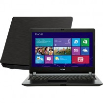 "Notebook CCE Ultrafino N325 - Intel Core i3-3217U - HD 500GB - RAM 4GB - LED 14"" - Windows 8"