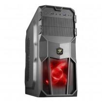 Gabinete Cougar Micro ATX USB 3.0 Preto sem Fonte MX200