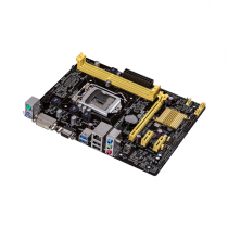 Placa-Mãe ASUS p/ Intel LGA 1150 mATX, H81M-K, 2xDDR3, VGA, USB3.0, SATA6GB/s, DVI-D Port, Rede Gigabit
