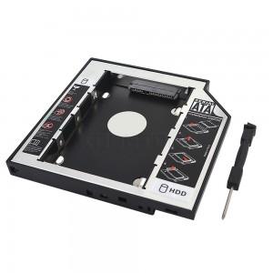 Adaptador Dvd P Hd Ssd Notebook Air Drive Caddy 9.5mm