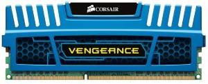 Memória Corsair Vengeance 8GB 1600Mhz DDR3 CL10 Blue - CMZ8GX3M1A1600C10
