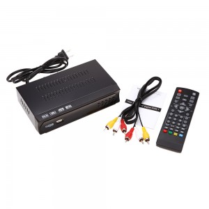 Conversor Box Receptor Tv Digital Multimídia Com Gravador